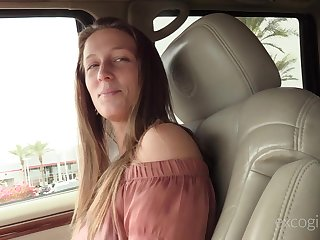 Elena sucks and fucks a hard cock with a but plug up her bore