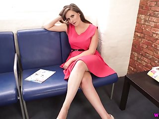 Breath taking XXX video be required of wanking leading role British milf Charlie Rose