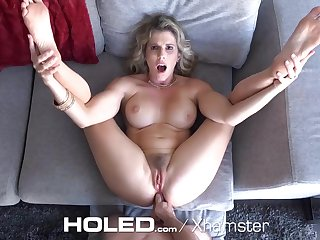 HOLED - Virgin boy anal hardcore fucks busty tits stepmom Cory Chase
