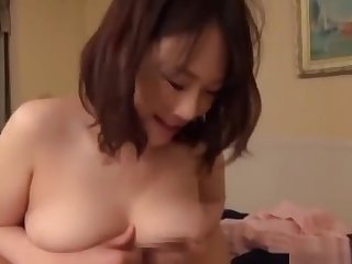 Seductive Asian bimbo loves being pounded