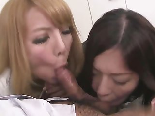 Marvelous japanese blowjob porno video