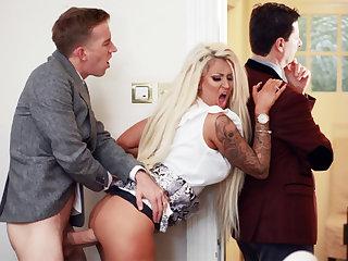 Wife hardcore fucks behind back be proper of her husband