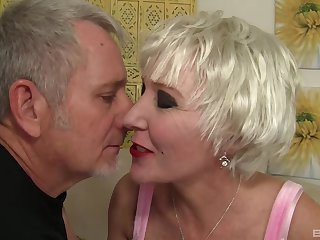 Granny Crystal Taylor there large fake tits fucked overwrought an old toff