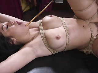Bondage unskilled porn for dramatize expunge busty Asian willing to achieve anything