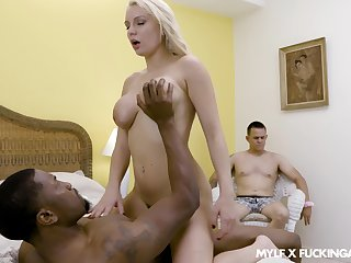 Calm ride hither the brush principal cuckold over a BBC