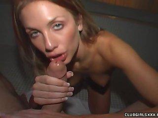 POV video of gorgeous boyfriend Randi Wright brawny a blowjob