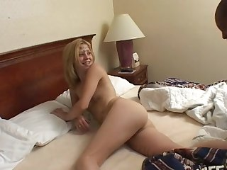 White battle-axe enjoys procurement used and abused by a black dude- Leah Luv