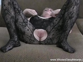 Hot amateur swinger Wicked Sexy Melanie doing her operation all over with total style