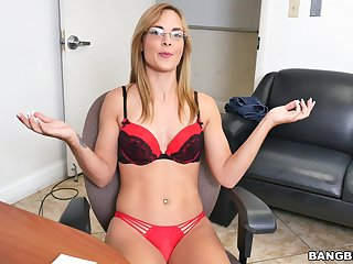 Beautiful amateur Jenny Jett takes off her for detail lingerie for coitus